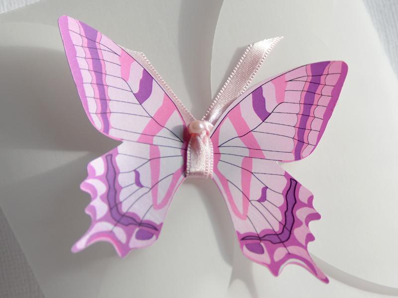 Detaliu fluture botez