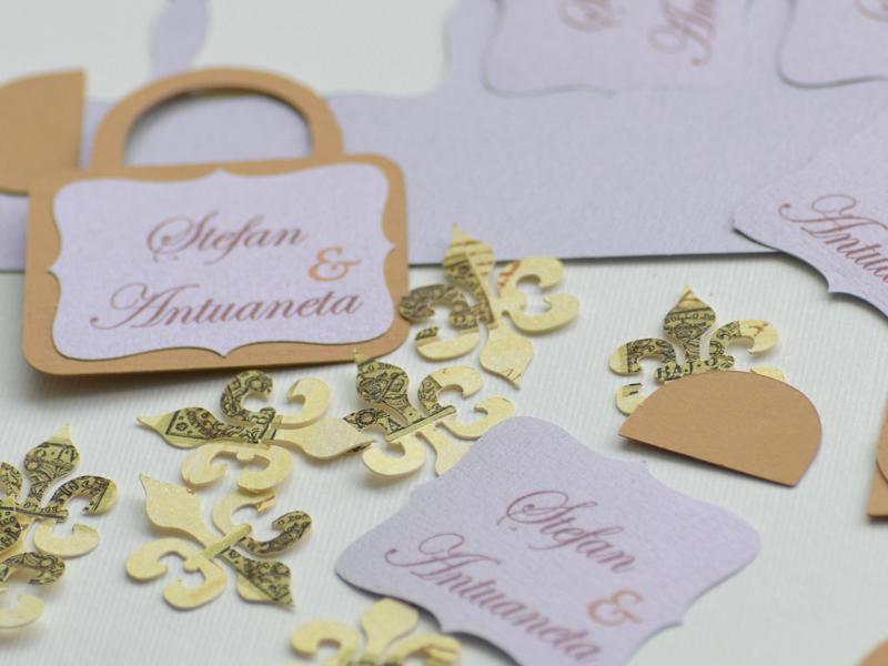 Paris mon amour invitatie nunta realizare